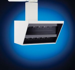 The wall wash fixture from LSI is ideal for lighting museum and retail applications.
