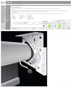 MechoSystems introduces its web-based Shadecloth Features Selector and its WhisperShade DC Electronic Drive Unit.