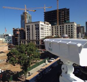 The 20-MP camera system helps companies monitor construction jobsites for security, progress reporting and compliance.