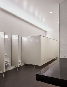 Bathroom Partitions Provide An Increased Level Of Privacy Retrofit - Bathroom privacy partitions