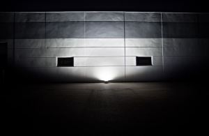 The LED flood lights are available in 10-, 30-, 50-, 100-, and 200-watt versions.