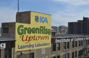ICA GreenRise began the process of retrofitting the building for energy savings in 2013 with a goal of lowering its energy use by twenty-percent in five years.
