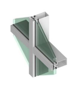 The 400T Series Thermal Curtainwall is a thermally broken curtainwall product designed to meet or exceed energy codes.