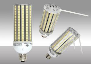 led area lamp replaces metal halide bulbs in outdoor lighting retrofit