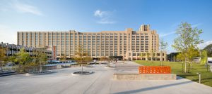 Crosstown Concourse is the largest adaptive reuse project in the nation to earn a top-level Platinum LEED rating from the U.S. Green Building Council, Washington, D.C.