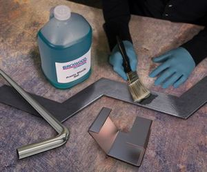 Gel formulations from Birchwood Technologies can be applied to most iron and steel surfaces without running or dripping.