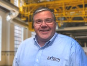 Tim Metcalfe joins EXTECH as a technical sales engineer.
