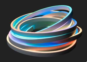 Flex Tube Pixel is a direct view LED strip that features RGB control for interior or exterior lighting applications.