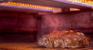 In addition to tankless water heaters, the resort uses a 1,600-degree propane grill in the Oak Room.