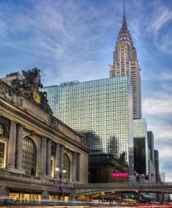 The retrofit at Grand Hyatt New York reduces energy use by 1,352,007 kilowatt hour and carbon dioxide emissions by 950 metric tons.