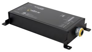 The wireless Universal Dimming Module is a multi-protocol driver designed to allow conversions between control systems and allow for control flexibility and integration with fixtures.