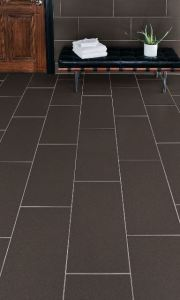 The porcelain tile collection is ideal for interior floors, walls and countertops, as well as exterior walls.