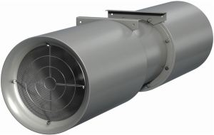 GreenJet provides ventilation for ductless underground parking applications.