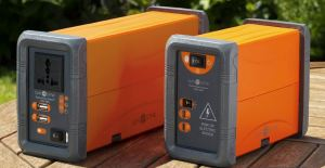 The Pocket Power Station can handle battery packs between 100 and 230 watts.