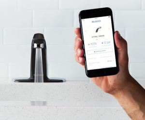 The Sloan Connect App enables building owners and facility managers to collect data and adjust settings without having to disassemble the sink.