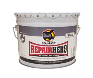 Seal-Fast Repair Hero roof flashing is an all-system, all-weather maintenance and repair product.