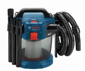 The vacuum cleaner features a washable HEPA filter, which captures 99.97 percent of particles at 0.3 microns and larger.