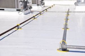 KnuckleHeads provide rooftop support for HVAC equipment, pipes and conduit.