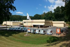 Renovations of a vacant warehouse supports corporate sustainability initiatives at U-Haul.