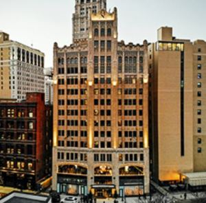 The Metropolitan Building, was originally opened in 1925 and previously was a destination for jewelers and shoppers alike.