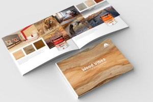The Wood Vibes collection is inspired by nature and wildlife and explores color and design trends of the wood coatings industry.