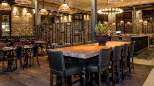 Ledger is a restaurant and bar situated in a space formerly home to the country's second-ever chartered savings bank.