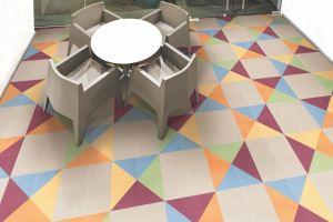 The Tarkett VCT offers 29 colorways.