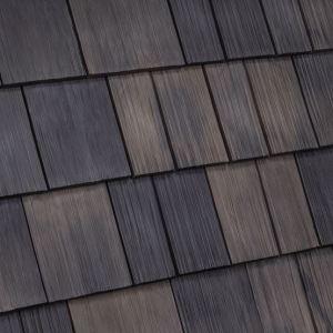 DaVinci Select Shake tiles resemble a traditional cedar shake look.