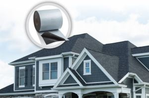 EdgeSeal is self-sealing adhesive starter roll designed to bond shingles to the roof deck at its perimeter.