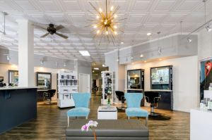 The Special FX Salon and Day Spa received a makeover that made the salon fresh-looking and in-style without needing to do construction
