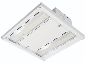 The modular high bay luminaire from LSI Industries is designed for gymnasiums, light industrial and warehousing applications.