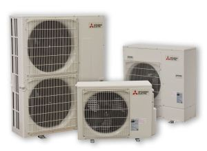 The PUY-7 outdoor units provide 100 percent rated cooling capacity down to -40 F outside air temperature.