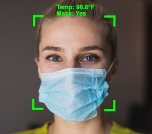 LILIN releases a monitoring system capable of measuring the body temperature of individuals and detecting whether or not they are wearing a protective face mask.