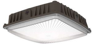 The Sling Canopy is a single housing that features 3000 – 7000 lumens and an impact resistant polycarbonate lens.