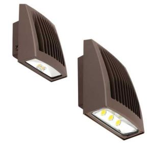 The Sling Wallpack is a wall and flood fixture that comes in four lumen outputs and two sizes.