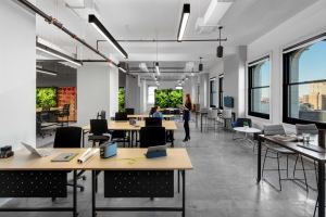 Strategy and design teams created the workplace to address individual needs through new digital strategies, space planning, flexible furniture and technology.