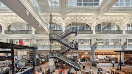 The Bourse, BLT Architects, Metamorphosis Awards, food hall