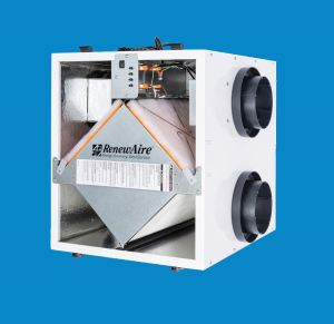 The EV Series Premium is a two-model energy recovery ventilator that offers recovery efficiency, CFM/watt and static pressure capabilities.
