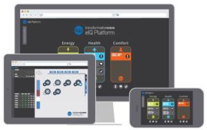 The eIQ Platform automates the process of making changes in ventilation settings and schedules.