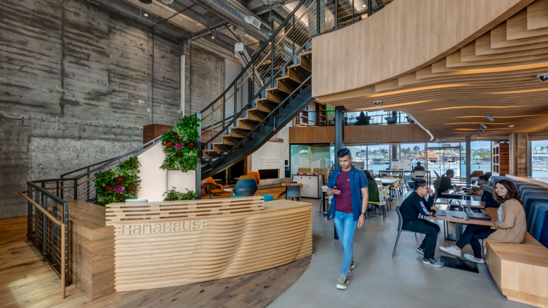 co-working, innovative workplace