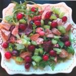 Festive Duck Salad & Oscar's Story