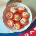 Old Bay Horseradish Tomatoes