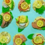 Four Kumquat Canapés For Four Food Heroes
