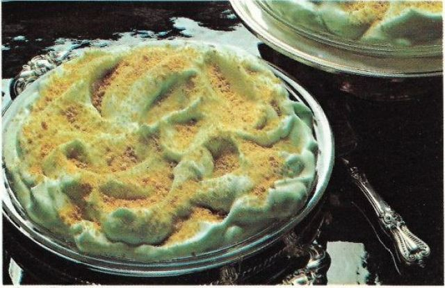 Fluffy Lime Pie - orig