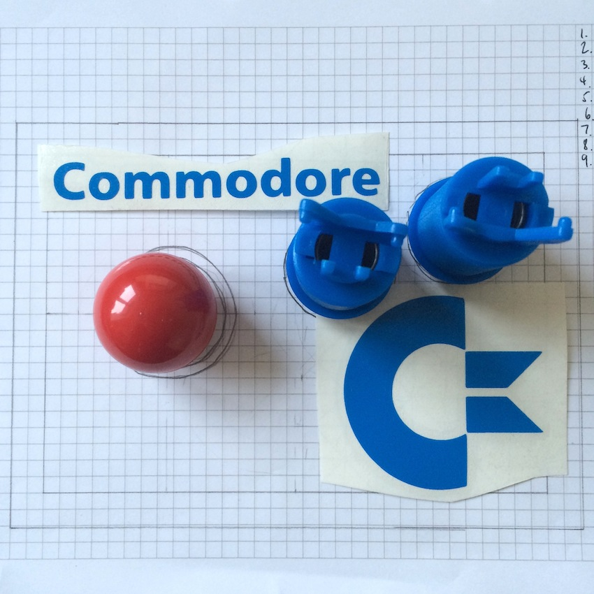 Build your own Commodore 64 arcade stick - a guide - Retro Games