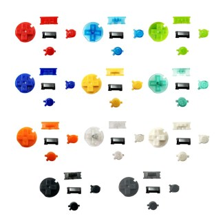 Nintendo Game Boy Color Button Set