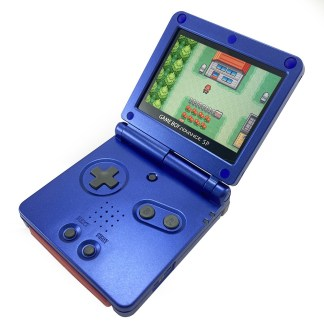 Refurbished GBA SP Console with IPS LCD Mod