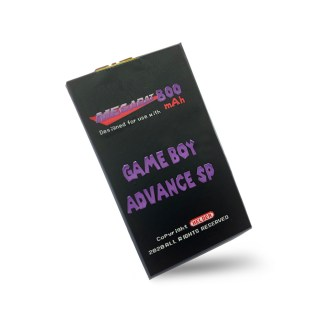 Helder Megabat 800 GBA SP Battery