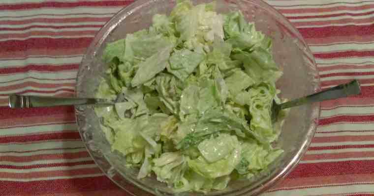 Basque Garlic Salad Dressing
