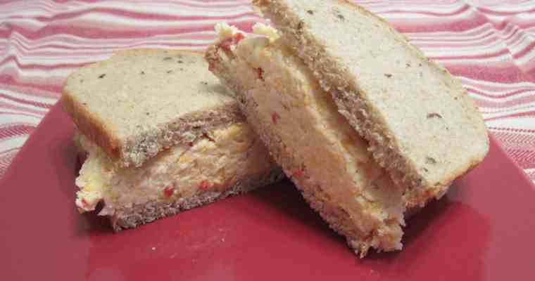 Three-Cheese Pimiento Cheese